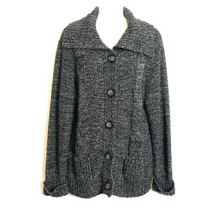 Style and Co Button down cardigan.